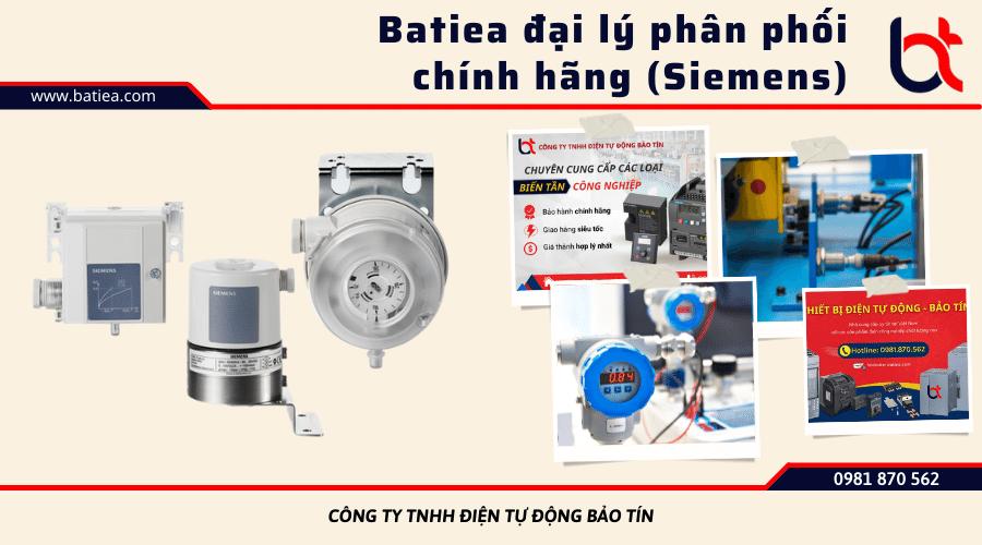 Phân phối cảm biến áp suất chính hãng tại Batiea