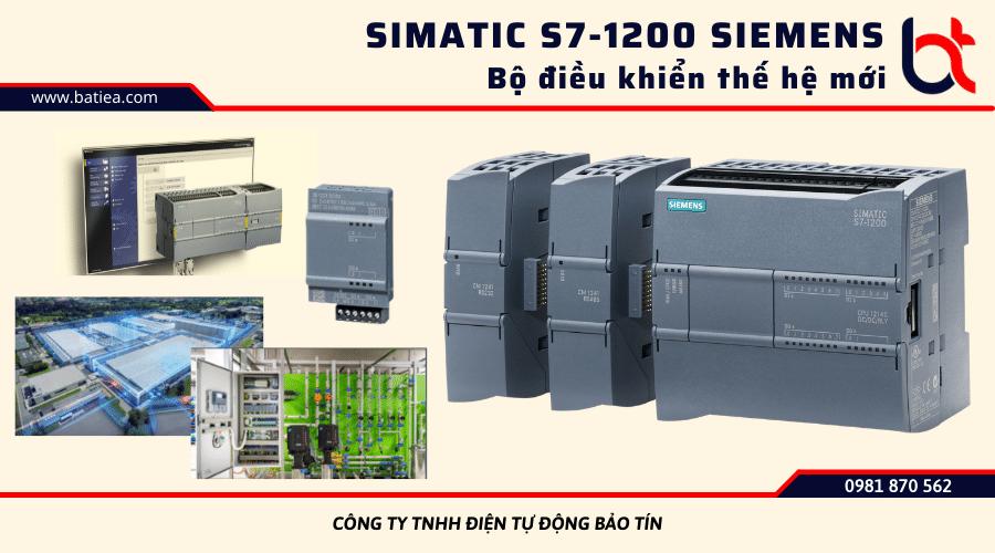 Simatic S7-1200 Siemens: Bộ điều khiển thế hệ mới