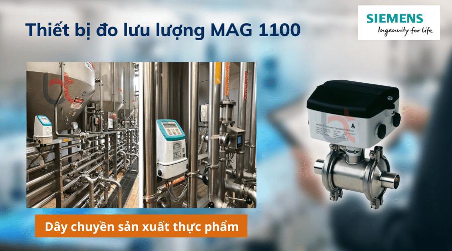 thiết bị đo lưu lượng MAG 1100