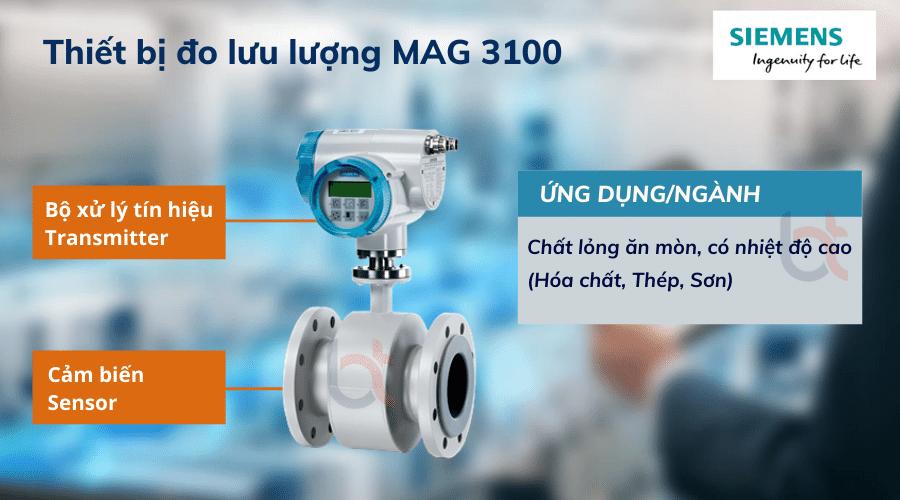 thiết bị đo lưu lượng MAG 3100